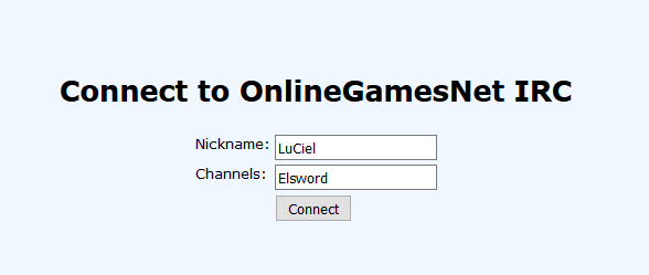 IRC – Live Chat - Guides & Tutorials - Elsword Europe